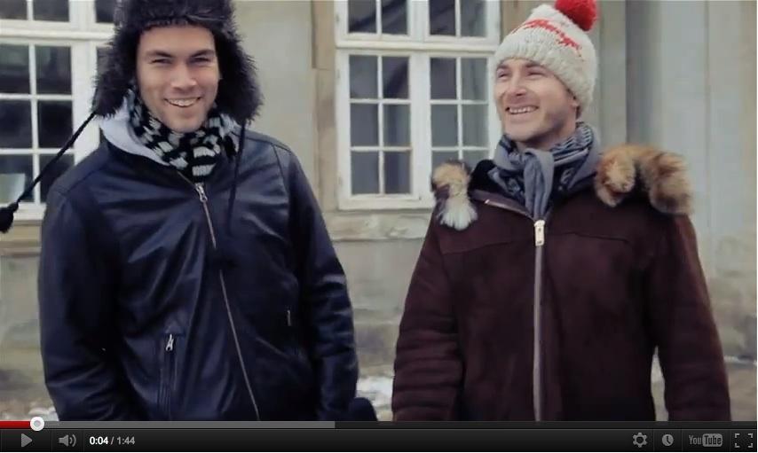 Toke Kruse og Sebastian Seilund