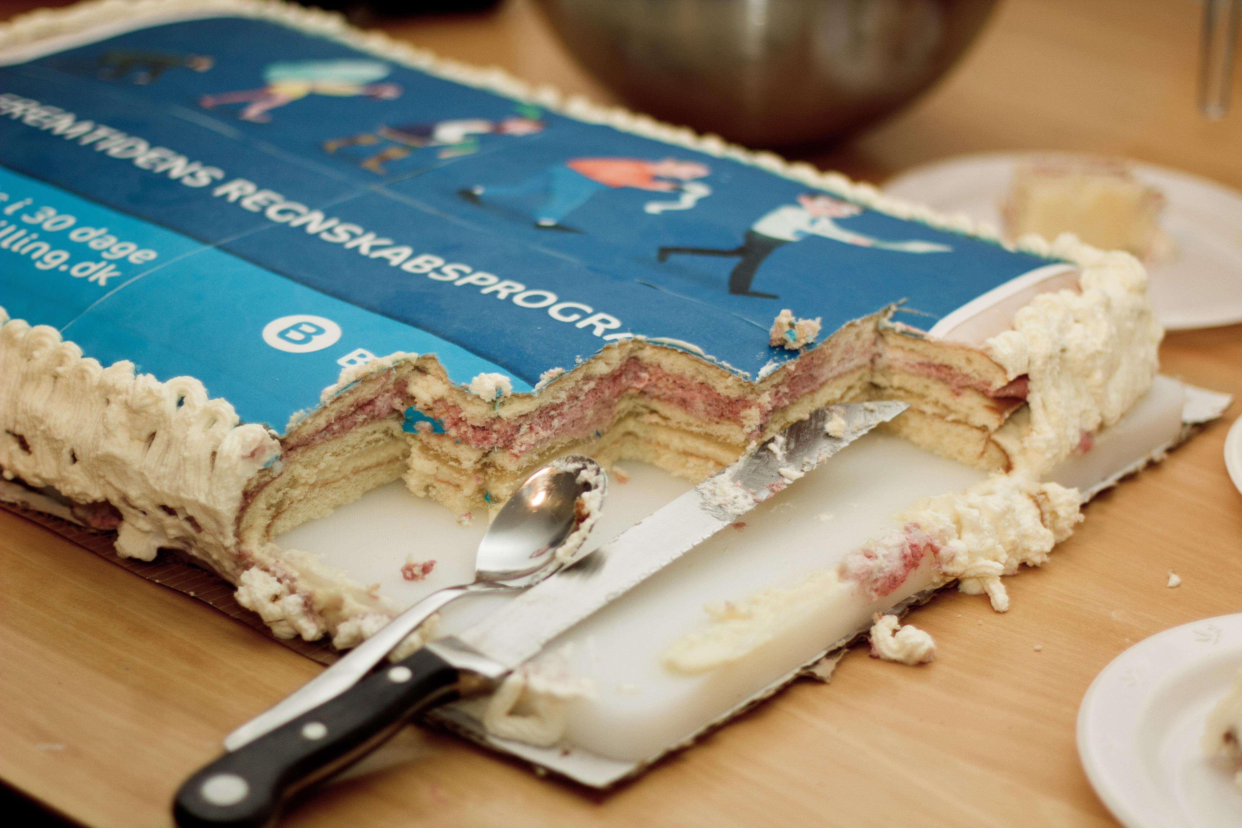Billy Regnskabsprogram og kage